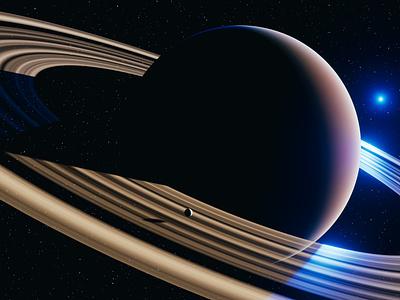 Planet - 3D Blender design illustration rings space planet blender3d 3dblender blender 3d