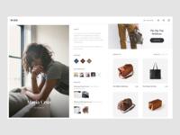 Hide Designer Page (Concept project)