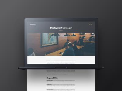 SocialCops socialcops culture team company about design web career ui web design