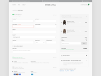 Checkout Design for SandsandHall.com - Online Boutique