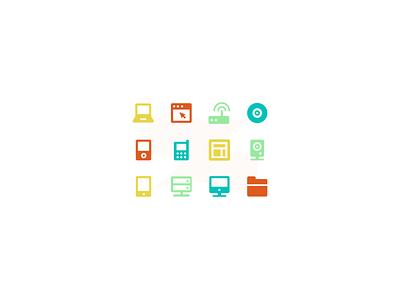 Admin Kit icon icons router server speaker folder monitor iphone imac