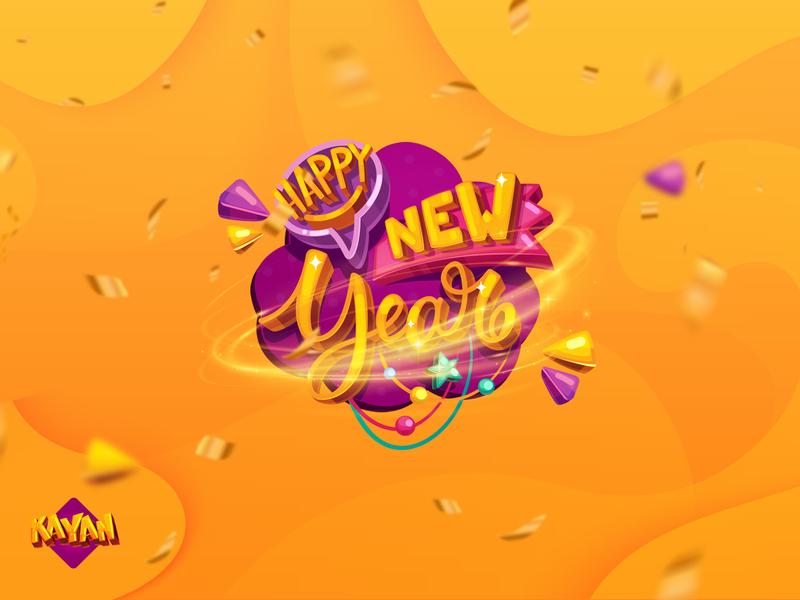 Kayan, Happy new year 2019 new year social campaign graphics social media social motion graphics motion motion graphic graphic graphic  design freelancer freelance design creative  design creative
