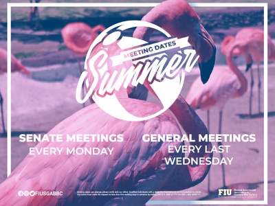 Summer Meeting Dates meetings pink flamingos logo dates meeting ball beach summer flamingo