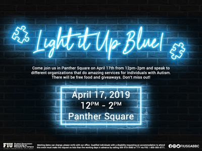 Light it Up Blue!