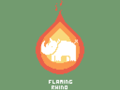 Flaming Rhino