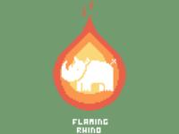 Flaming Rhino