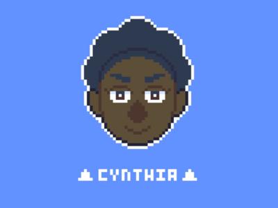 Pixel Portrait: Cynthia Jacques