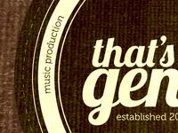 That's Genius - Badge