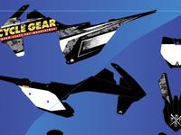 Motocross Graphic kit