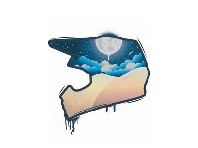 Moonlight dunes