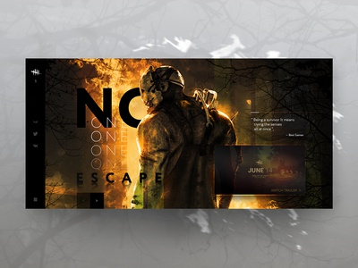 Dead by Daylight Game Promo UI Shot