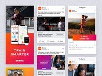 Strava Paid Social Marketing