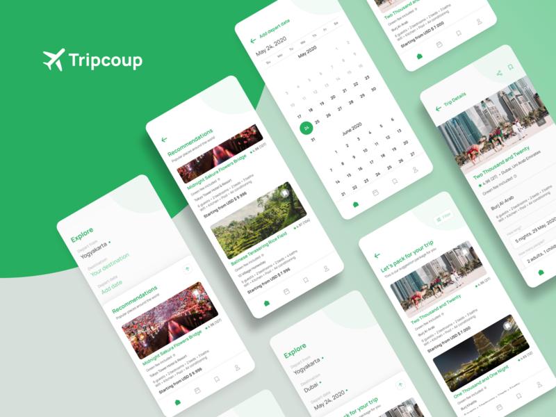Tripcoup App Exploration
