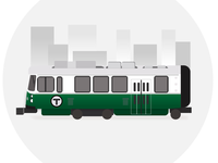 Green Line Car