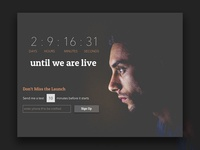 Countdown Launch Page