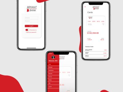 Banking app re-design