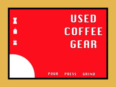 Used Coffee Gear