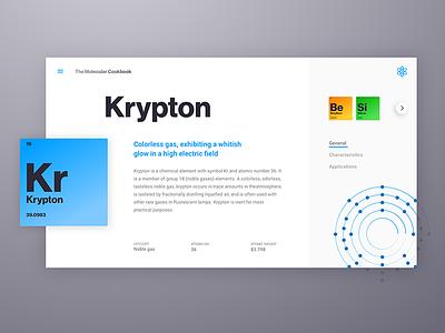 Krypton web flat landing responsive mobile app startup simple