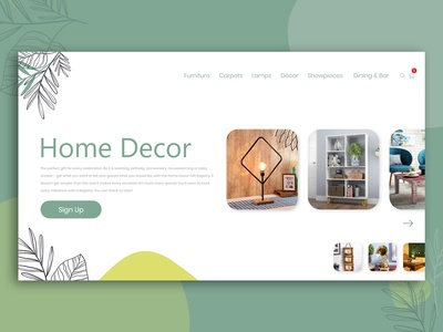 Home Decor Banner