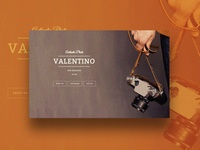 Valentino – Portfolio Website Template