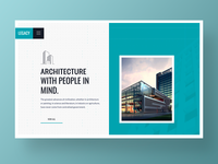 Legacy – Architecture Website Template