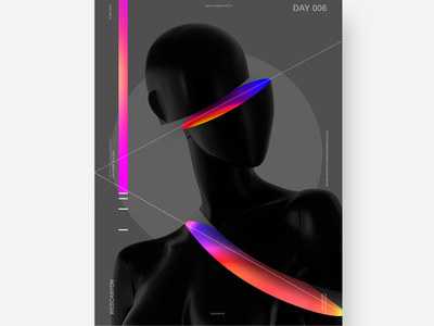 Poster #6 poster design poster a day poster art illustration minimal interaction site homepage ux agency website app ui