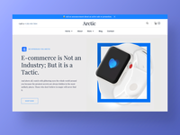 Arctic – Ecommerce Website