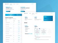 Airshaper dashboard & order