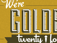 We're golden (mockup)