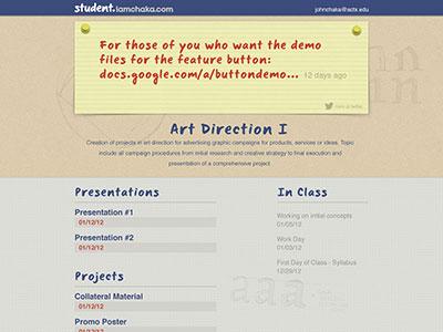 Student iamchaka com design2