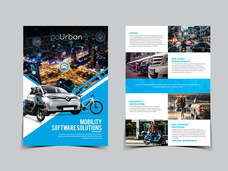 Mobility Software Solutions post card icon fab flyer branding flyer design advertisement flyer flyers ad design advertise