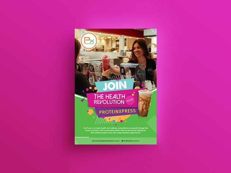 Join The Health Revolution Flyer Design flyer design post card branding fab flyer ad flyers flyer design advertisement advertise