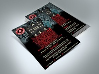 Darker Upside Down Flyer Design