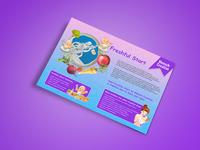Freshful Start Flyer Design
