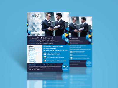 Professional Career Services fab flyer flyer design flyer design flyers illustration card post card ad branding advertisement advertise