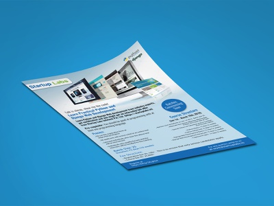 Startup Labs flyers fab flyer flyer flyer design post card card illustration design ad branding advertisement advertise