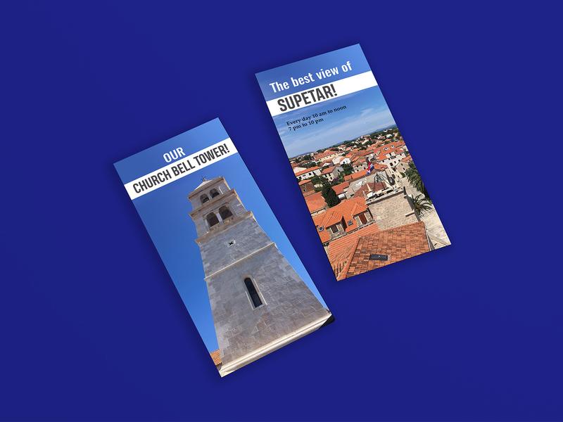 Church Bell Tower flyer flyer design fab flyer flyers ad branding illustration card post card design advertisement advertise