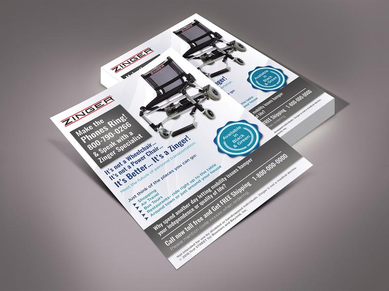Zinger Flyer Design flyers flyer design flyer design post card illustration ad card fab flyer branding advertisement advertise