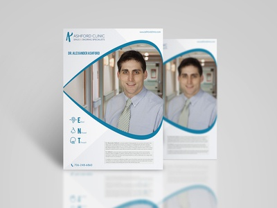 Ashford Clinic Flyer Design