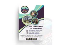 Tuk-Tuk Challenge Flyer Design