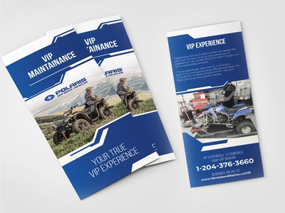 VIP Maintenance Flyer  Design