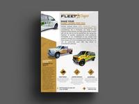 Fleet Wraps Flyer Design