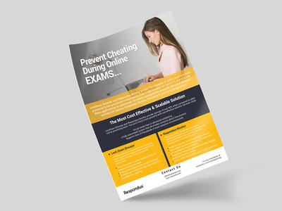 Respondus Flyer Design