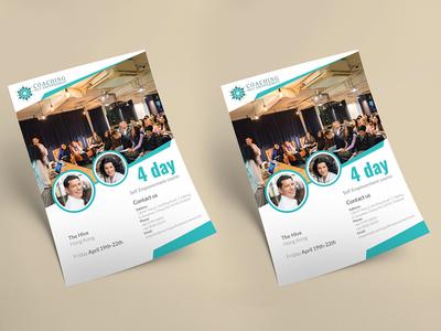 Coaching Self Empowerment Flyer Design