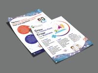 Grow Flyer Design advertise logo fab flyer flyers advertisement flyer design flyer design