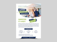 Summer Adventure Flyer Design business fab flyer advertise flyers advertisement flyer design flyer design