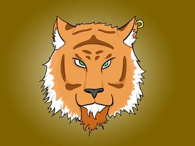 Tigre draw tiger illustration