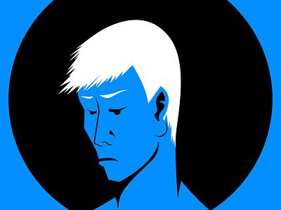 Bad Mood circle man illustrator