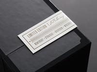 J.R. Ewing Bourbon Promo Box Label