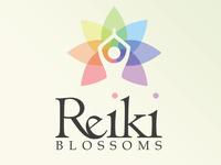 Reiki Blossoms logo